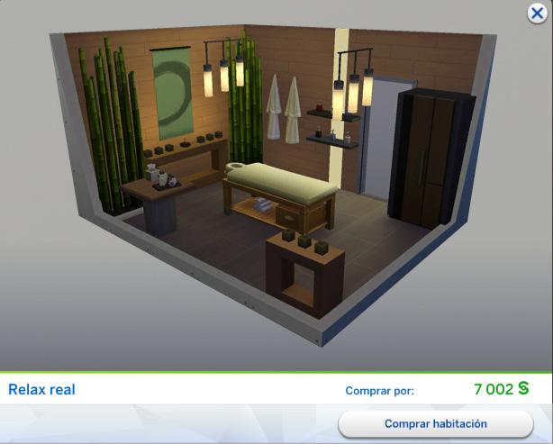 Los sims 4 d a de spa habitaciones predise adas simlish 4 for Cuartos para ninos sims 4