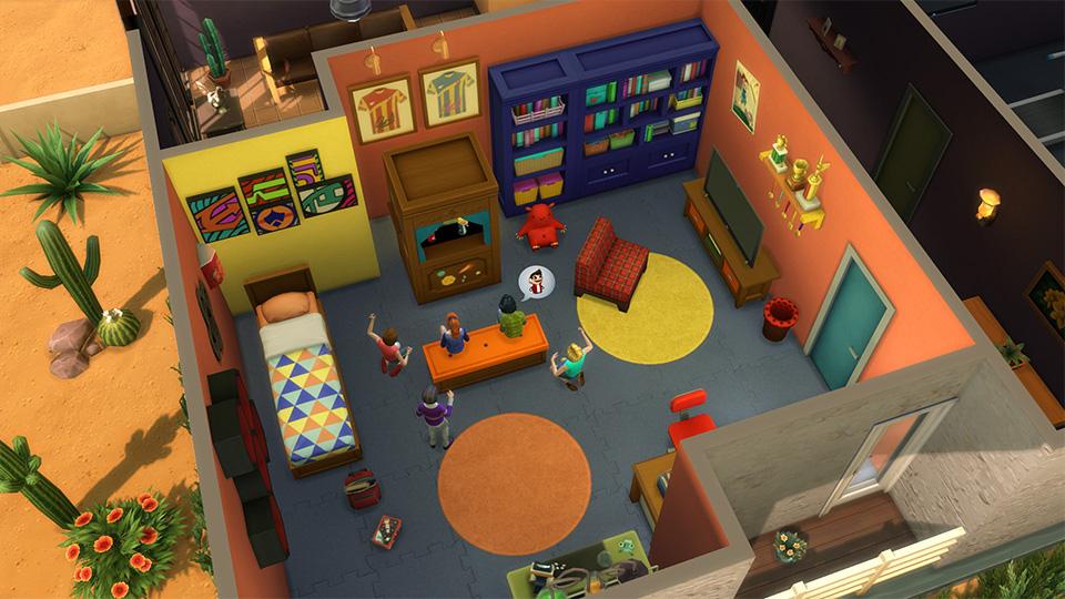 Cinco consejos para crear habitaciones incre bles en los for Cuartos para ninos sims 4